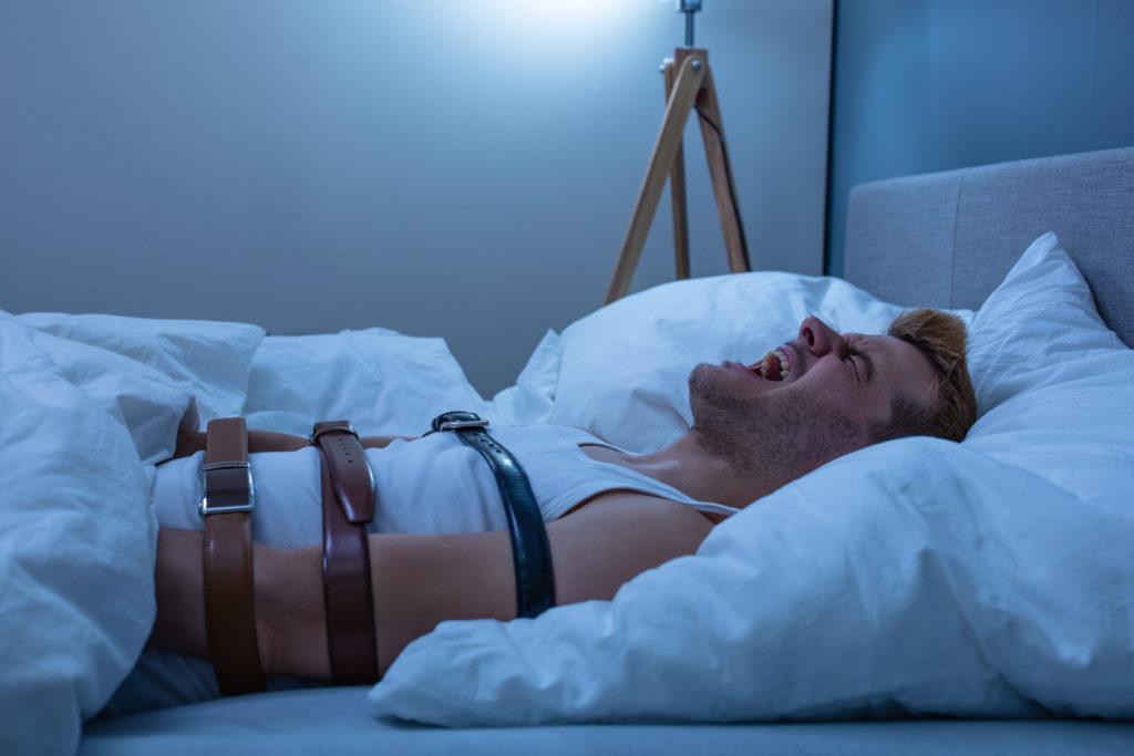 Cauchemar sensation d'être paralysé dans mon sommeil