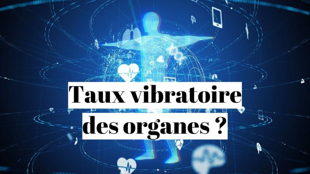 Fréquence vibratoire des organes (coeur, cerveau, foie)?