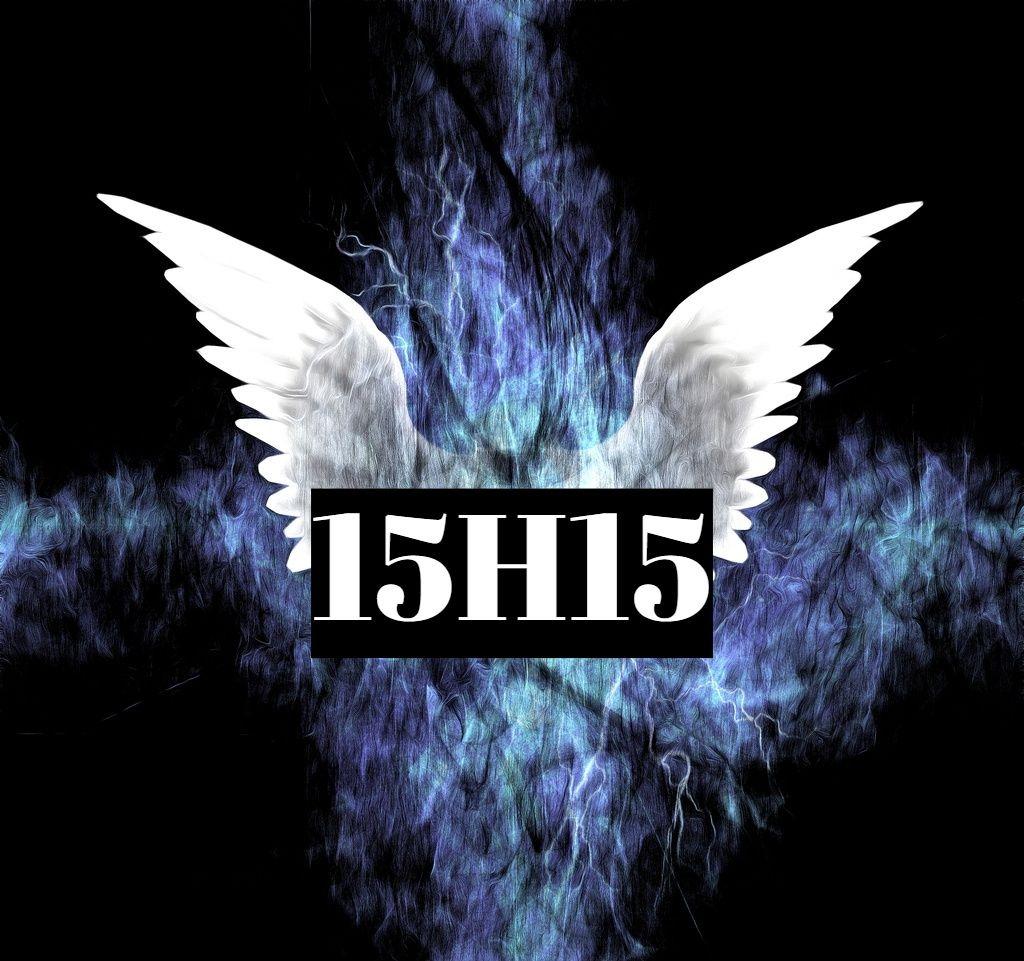 Heure miroir 15h15signification