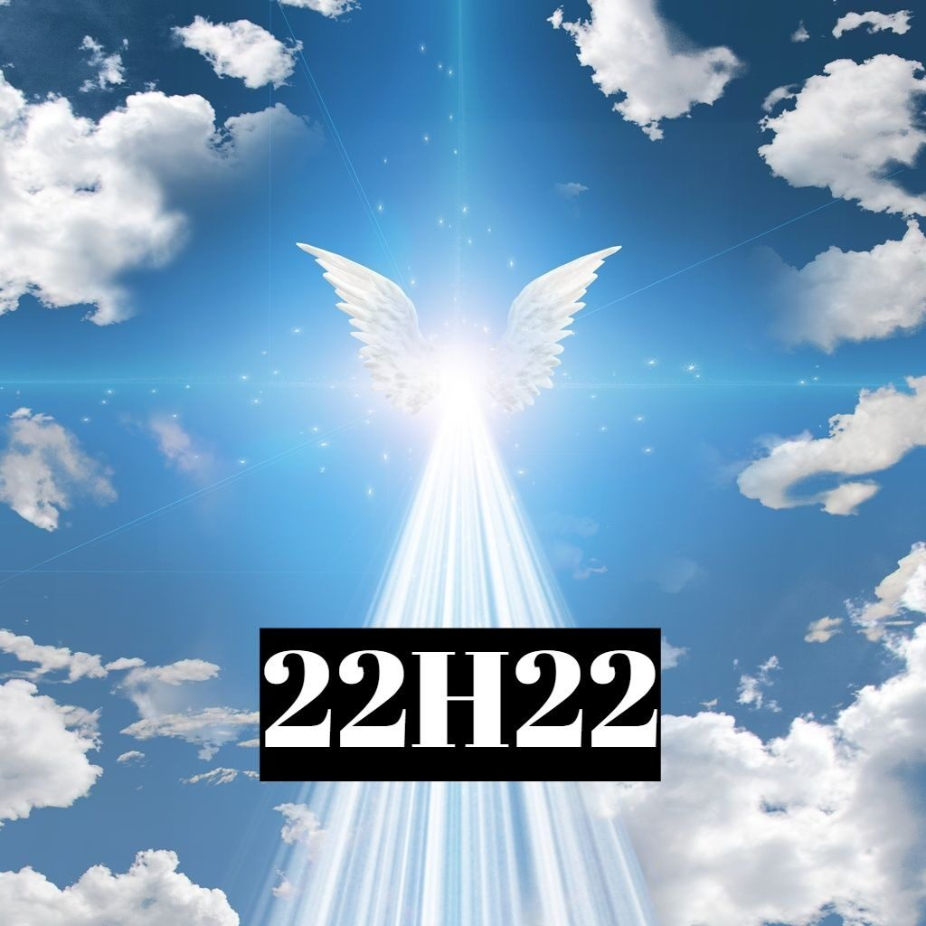 Heure miroir 22h22 signification
