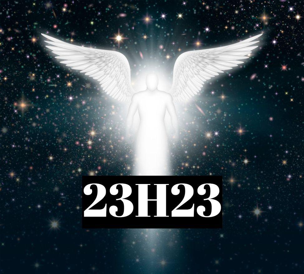 Heure miroir 23h23signification