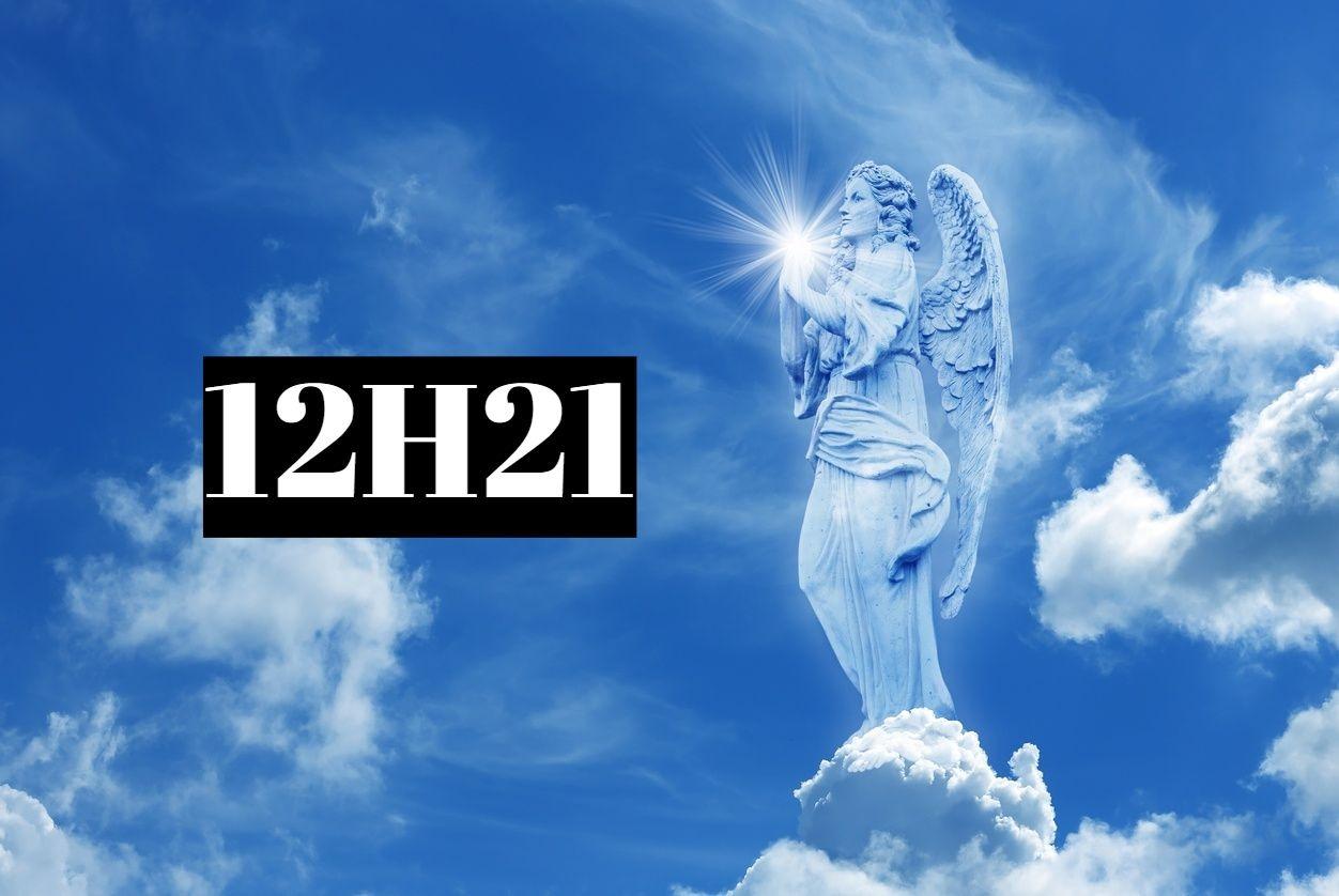 Heure miroir inversé 12h21: signification?