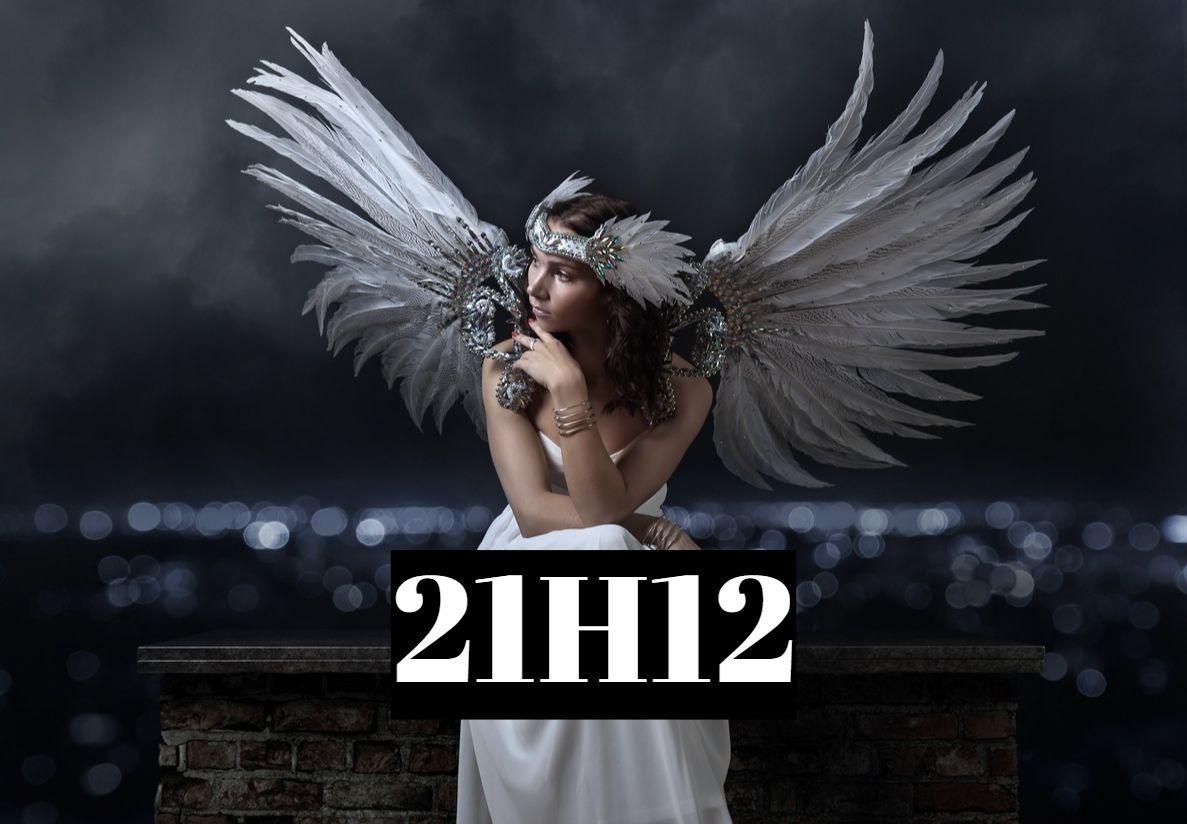 Heure miroir inversé 21h12signification