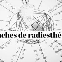 Quelle planche de radiesthésie utilisée pour mesurer son taux vibratoire?