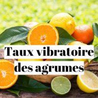 Taux vibratoire du citron et des agrumes?