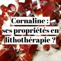 Cornaline : quelles sont ses propriétés en lithothérapie ?